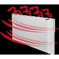 Elektrické Duálne thermo radiátory IQ-K  wifi