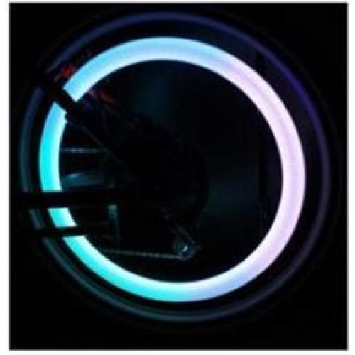 LED světelný disk červený
