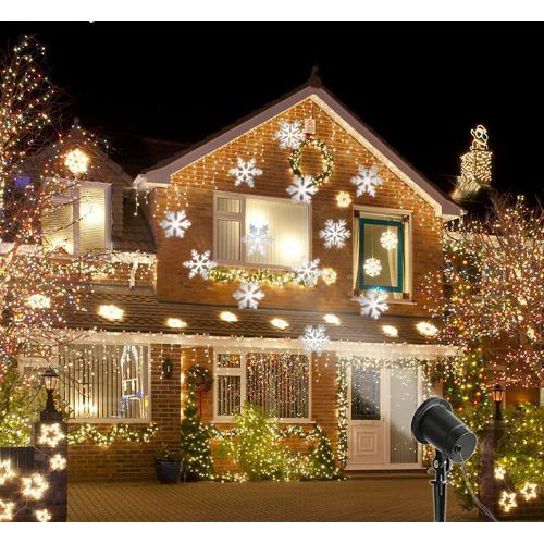 Vianočný LED laser projektor IQ-L 10 SNOW NAJŽIADANEJŠI !!!