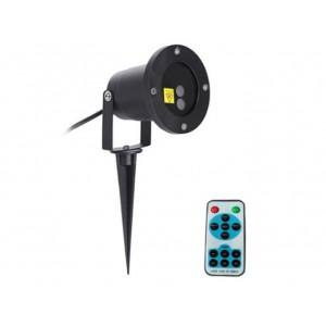 Vianočný LED laser projektor IQ-L 20 DOUBLE STAR velmi ŽIADANÝ !
