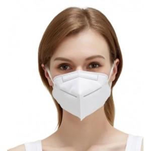 Tvárová šesťvrstvová maska s filtrami s aktívnym uhlím KN95
