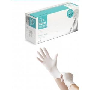 Medical jednorazové latexové rukavice nepúdrované, veľkosť L