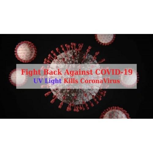 Dezinfekčná antibakteriálna UV lampa IQ-OSL black