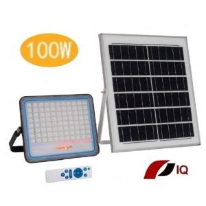 Solárne LED vonkajšie svietidlo IQ-ISSL HEG 100 + doprava zdarma!!!