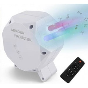 Vianočný LED laser projektor IQ LI  AURORA SKY