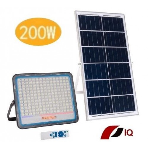 Solárne LED vonkajšie svietidlo IQ-ISSL HEG 200 + doprava zdarma!!!