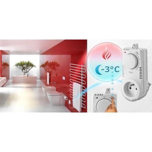Zásuvkový termostat TS 10