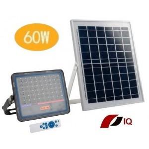Solárne LED vonkajšie svietidlo so samostatným solárnym panelom IQ-ISSL HEG