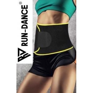 Športový bedrový thermo pás, pre ženy