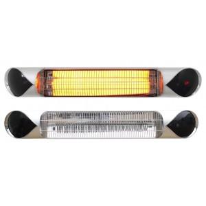Karbónový infražiarič IQ-STAR basic silver (stříbrný) 2500 W DOPRAVA ZDARMA