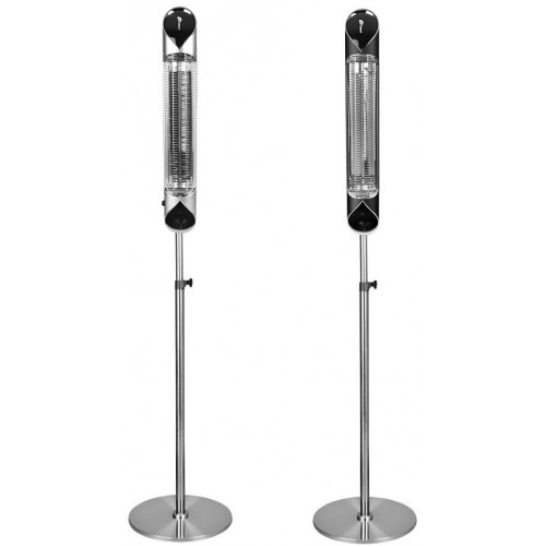 Karbónový infražiarič IQ-STAR vertical 2500W silver DOPRAVA ZDARMA
