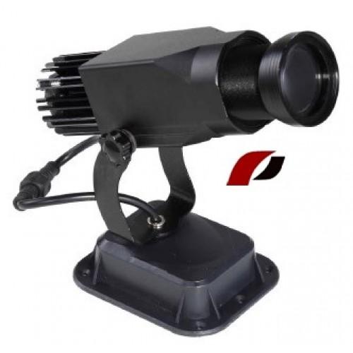 LED logo projektor IQ- 1002 S PROMOTION + ZADARMO 1x2D slajd s Vašim reklamným obsahom