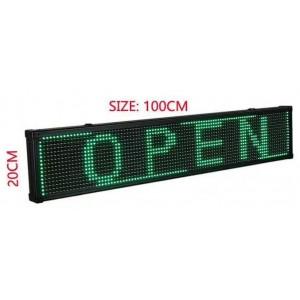 LED reklamní a textové displeje IQ-LP s WIFI pripojením farba textu GREEN (zelená)