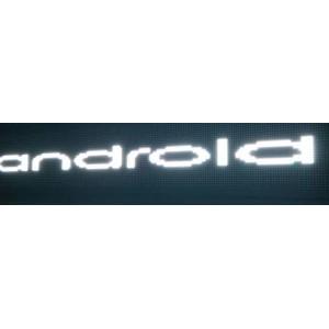 LED reklamní a textové displeje IQ-LP plus s WIFI pripojením farba textu WHITE (biela)