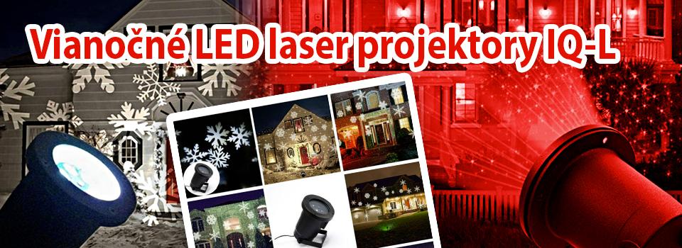 Led laser projektory